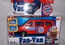 FC Bayern München  Fan Van rot mit Friktionsmotor 15cm ,Neu,OVP,Lizenz-RARITÄT