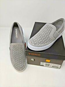 Vionic Splendid Kani Slip-On Sneaker - Light Grey