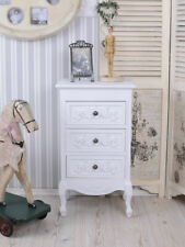 Dresser Chippendale Wardrobe Country Style Schublande Wood Antique White Bedroom