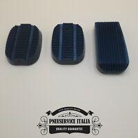 Kit copri pedali in gomma  Fiat 500 epoca, 126, 850 Frizione freno acceleratore