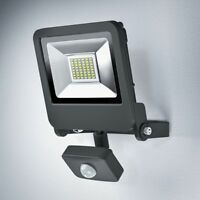 Osram ENDURA FLOOD SENSOR LED 30W DG 3000K Warmweiß Fluter Floodlight IP44 grau