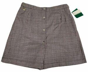 Liz Golf Size 16 Skort New Red White Black Red Plaid Skirt Shorts Combo