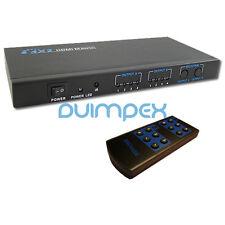 ! divisor de HDMI de distribución matriz 4 x 2 4 en 2 out 1080p