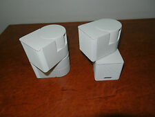 "BOSE PREMIUM JEWEL CUBE SPEAKERS x2 ""Genuine Made By Bose"""