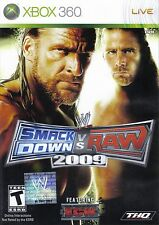 WWE SmackDown vs. Raw 2009 XBOX 360