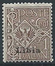 1912-15 LIBIA AQUILA 1 CENT MNH ** - ED208