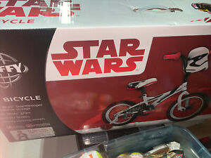 Huffy Star Wars Stormtrooper Kids Bicycle 16 Inch Boys Bicycle with S-Wars Mask