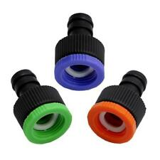 Garden Tap Water Hose Pipe Connector Quick Connect Adapter Fitting Watering JJ