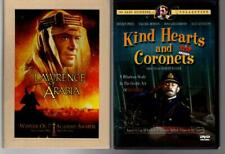 Dvd Alec Guiness Lawrence Of Arabia, Kind Hearts And Coronets
