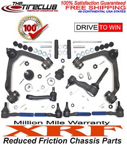 XRF Ball Joint Control Arm Tie Rod Pitman Idler 3.5 Kit Ford F150 2WD 97 - 03