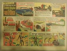 "Ford  Ad: ""Safety Angles of the 1949 Ford""  from 1949"