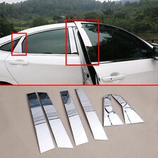 For Honda Civic Sedan 2016-2019 Steel B C Pillar Cover Door Window Accessories
