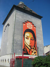 new Obey release , Commanda mural print, only 389 printed,