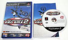 Sony PLAYSTATION 2 PS2 MAT HOFFMAN'S PRO BMX 2 2002 Activision SLES-50870