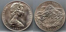 New Zealand - Nieuw Zeeland : one 1 dollar 1970 Mount Cook - very nice!