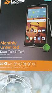 display LG Stylo 1 Boost Mobil phone