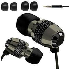Headphone Earphones In Ear Metal Isolating Noise Earphone For Mp3 4 5 Black