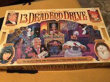 13 DEAD END DRIVE Vintage Milton Bradley Board Game