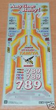 Tamiya 58045/58336 Hornet, 9495452/19495452 calcomanías/Pegatinas, nuevo en paquete