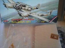 FOCKE-WULF FW 189A 1/48 SCALE MPM MODEL+RESIN+PHOTOETCHED+WHITE METAL PARTS