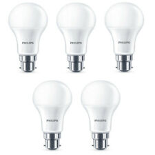 5x Philips LED Frosted B22 75w Warm White Bayonet Cap Light Bulbs Lamp 1055Lm
