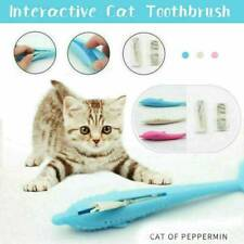 Cat Self-Cleaning Toothbrush - With Catnip Inside Perfect Teeth