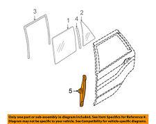 BMW OEM 00-06 X5 Rear Door-Window Lift Regulator 51357125060