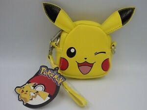Official Nintendo Pokemon Pikachu Face Coin Purse Mini Sack