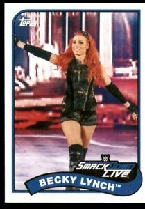 2018 Topps Heritage WWE #10 Becky Lynch - NM-MT