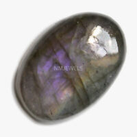 Cts. 17.15 Natural Purple Fire Labradorite Cabochon Oval Cab Loose Gemstones