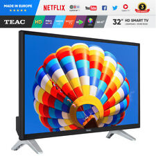 "2018 New TEAC 32"" TV Smart TV NETFLIX  Freeview Made In EUROPE 3 Year Warranty"