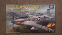 Instructions and Box Art for an Italeri F-51D Mustang
