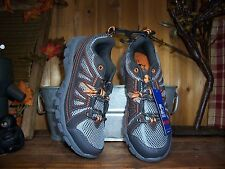 STARTER MENS RUNNING ATHLETIC SHOES SIZE 7.5 GRAY ORANGE MENS SPORTS CASUAL SHOE
