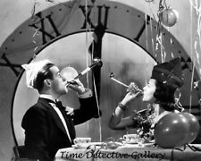 Couple Celebrating New Year's Eve - Vintage Photo Print