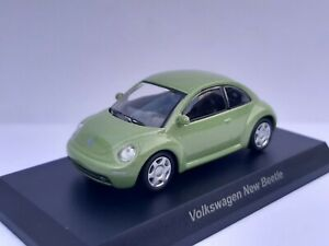 Solido Scale / Ladder 1/64. Volkswagen New Bettle Green. New IN Box