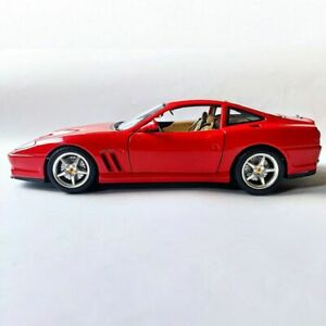 FERRARI 550 MARANELLO RED 1996. HOTWHEELS COLLECTION. 1:18 SCALE