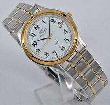 GLYCINE 3690.34.Sap-MB White Dial Stainless Steel & Gold Two Tone Bracelet Watch
