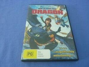 How To Train Your Dragon DVD Jay Baruchel Gerard Region 4 Free Postage
