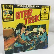 Star Trek book and Record Set Mirror of Futility BR 513 Vinyl 1976 Time Stealer