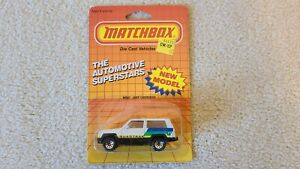 "MATCHBOX JEEP CHEROKEE QUADTRAK  MB27 FACTORY SEALED PACKAGE ""VERY NICE"""