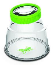 Riesen Käferdose Becherlupe Insektenbetrachter 80mm Linse Sicherheitsverschluss