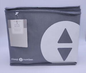 NEW Sleep Number Smart Skirt Bedskirt QUEEN Nickel Any Sleep# Mattress + FlexFit