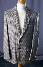 VINTAGE HAND WOVEN HARRIS TWEED 100% WOOL JACKET - CHEST - 44""