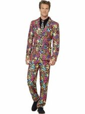 Neon Suit, Medium, Adult Fancy Dress Costumes, Mens