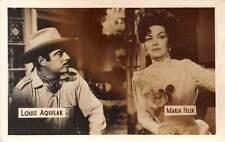 B55224 Louis Aquilar Maria Felix Couple Acteurs Actors 9x7cm