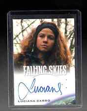 2015 Falling Skies Collector,s Luciana Carro auto. card