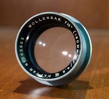 Wollensak Raptar 190mm F4.5 large format lens