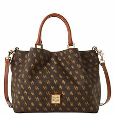 Dooney & Bourke Gretta Brenna Satchel Bag Brown Tmoro NG1905BM
