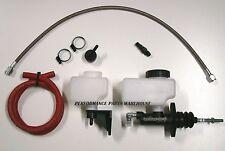 "GM LS V8 HYDRAULIC CLUTCH KIT 2004-17 T56 & TR6060 6-SPEED 30"" LINE"