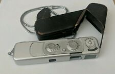Vintage Minox B Spy Camera (Complan Lens 1:3.5 f=15mm) w/ Leather Case & chain